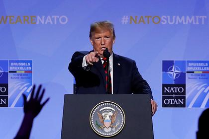 Трамп назвал причину усиления НАТО