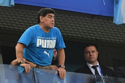 Марадона устыдился провала сборной Аргентины на ЧМ-2018