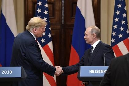 Владимир Путин и Дональд Трампна совместной пресс-конференции в Хельсинки