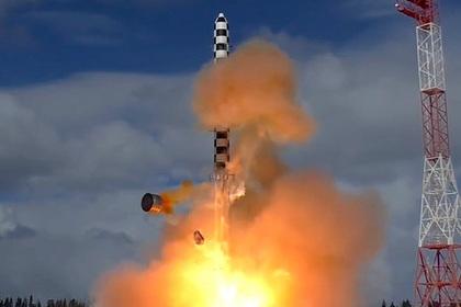 Россия завершила бросковые испытания «Сармата»