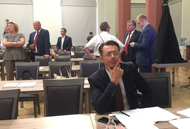 Петерис Спрогис проходит регистрацию как кандидат от «Центра Согласия»
