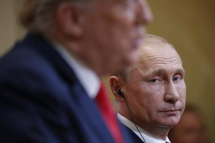Трамп допустил личную ответственность В.Путина завмешательство ввыборы США