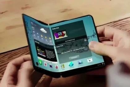 Названы сроки появления первого смартфона сгибким экраном Перейти в Мою ЛентуScreenshot Samsung