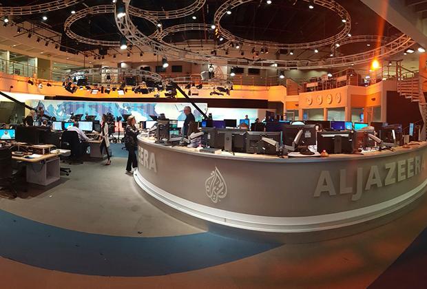 Студия «Аль-Джазиры» в Дохе