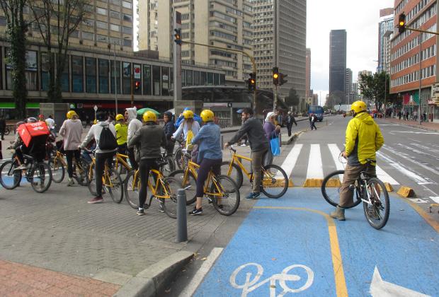Велосипед чрезвычайно популярен у местных жителей