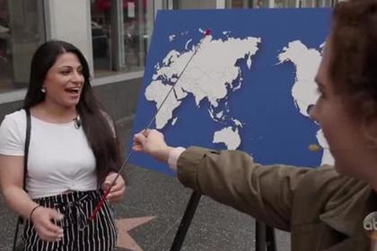 Американцы не смогли назвать ни одной страны на пустой карте