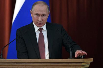 Путин упрекнул Киев в выборе силового пути