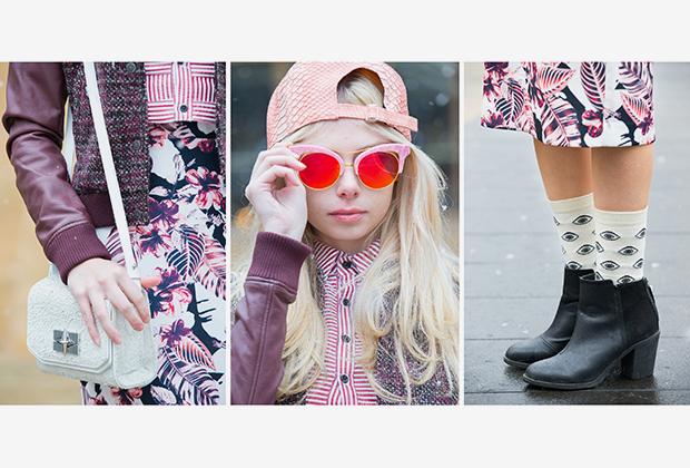 Юный инфлюэнсер Саманта Сассон на Нью-Йоркской неделе моды 2015 года позирует в вещах, вдохновленных хиппи и бохо-стилями.