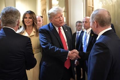 Дональд Трамп предложил Путину посетить Белый дом осенью