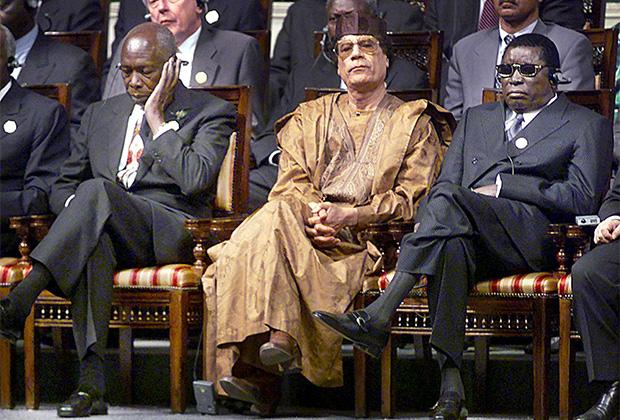 Гнассингбе Эйадема сумел подружиться со многими мировыми лидерами