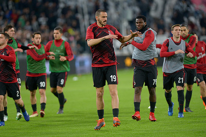 «Милан» вернули в еврокубки