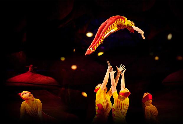 Выступления Cirque du Soleil за все время посетило более 200 миллионов человек
