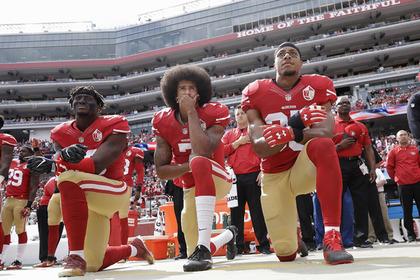 Трамп призвал наказать непатриотичных футболистов