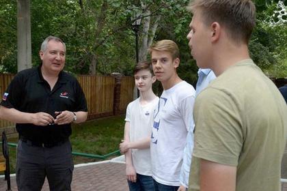 Рогозин рассказал о своей первой ракете