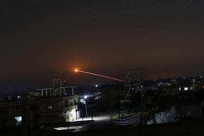 Израиль ударил новой системой ПРО по сирийским ракетам