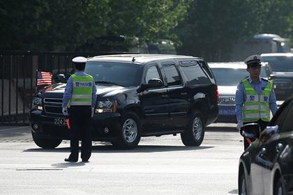 Очевидцы рассказали о взрыве у американского посольства в Китае