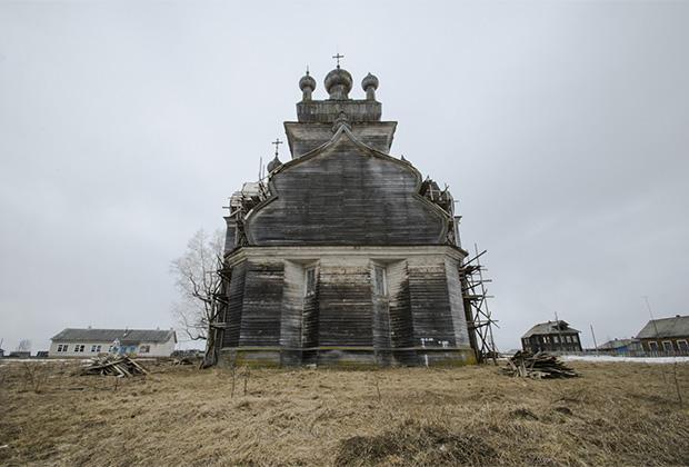 Церковь Спаса Преображения, Турчасово, Онежский район, Архангельская область