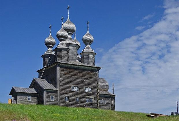 Церковь Николая Чудотворца, Ворзогоры (Кондратьевское)