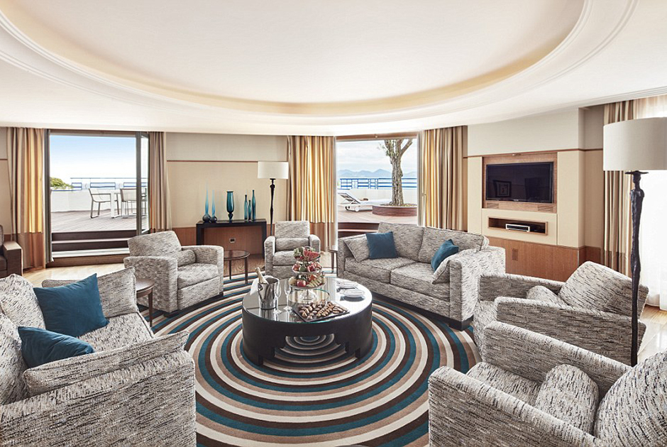 Penthouse Suite, Grand Hyatt Cannes, Martinez