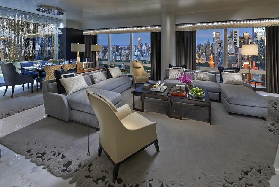 Suite 5000, Mandarin Oriental New York, New York