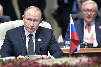 Журналисты пожаловались на бардак на саммите с участием Путина