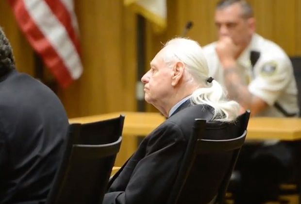 Роберт Хонсч на судебном процессе