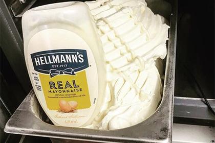 В сети узнали о существовании мороженого из майонеза и ужаснулись