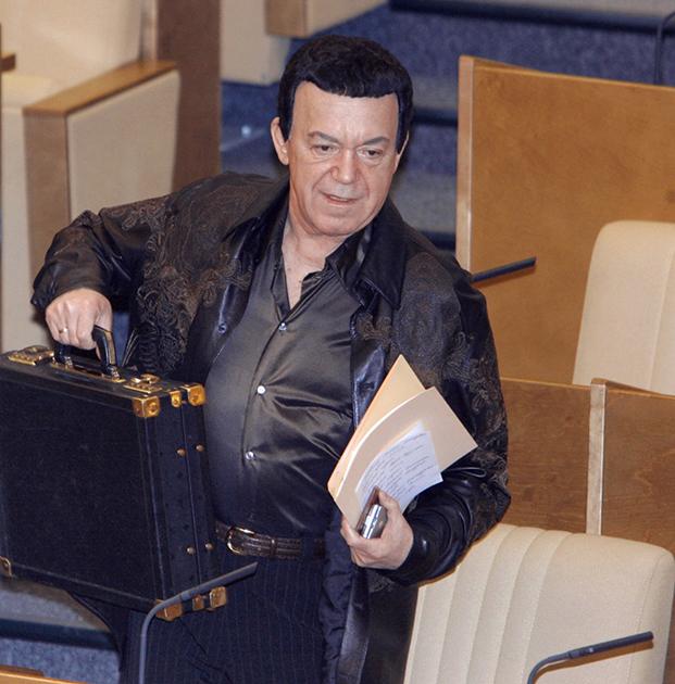 Председатель комитета Госдумы по культуре Иосиф Кобзон на заседании Думы. Кобзон был депутатом с 1995 года.