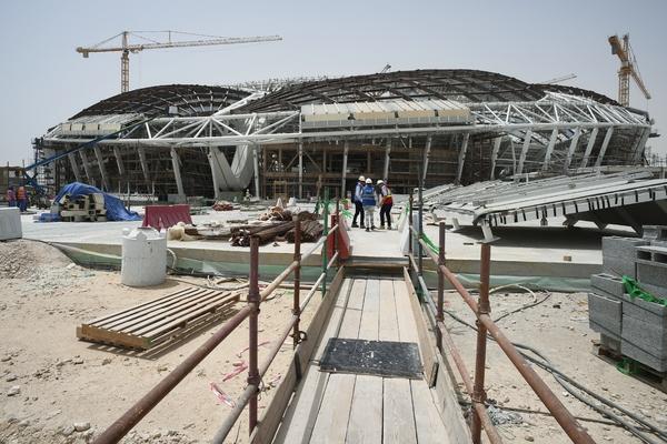 Строительство стадиона ЧМ-2022 в Катаре