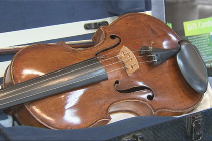 Редкую скрипку за четверть миллиона продали ломбарду за бесценок