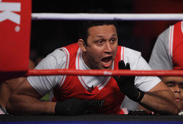 EAST RUTHERFORD, NJ - AUGUST 2:  Renzo Gracie, Head Coach of the New York Pitbulls shouts instructions to Bryan Vetell during his Heavyweight bout against Wayne Cole of the Tokyo Sabres at the International Fight League  Semi Finals on August 2, 2007 in East Rutherford, New Jersey.  The International Fight League is the worlds first team based professional mixed martial arts league.  In a match, two teams compete against each other with the winning team being the one whose members win three of five one on one matches in five weight divisions.  Competition goes in a round robin format amongst 12 teams with the teams with the two best records ultimately competing for the IFL Championship.
