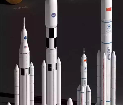 В планы Китая входит создание сверхтяжелой ракеты Long March 9 грузоподъемностью до 140 тонн на низкую околоземную орбиту и до 50 тонн — на геостационарную. В настоящее время примерно 70 процентов компонентов ракеты уже проходят испытания. Первый полет носителя запланирован на конец 2020-х.