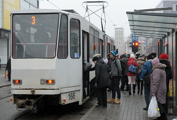 Бесплатный таллинский трамвай