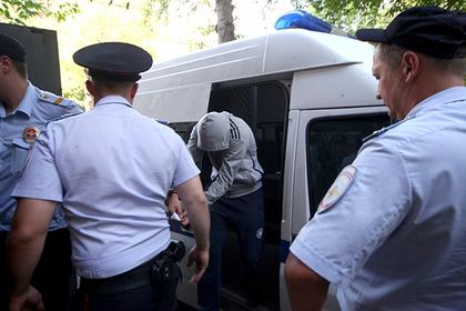 Суд арестовал обвиняемого внападении наполицейского вцентральной части Москвы