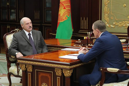 Александр Лукашенко и Анатолий Исаченко