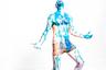 Ив Кляйн — один из моих любимых художников. Мне кажется, это самый ироничный художник ХХ века после Марселя Дюшана, любивший порассуждать на тему «Что такое искусство вообще». После этих художников, на мой взгляд, больше никаких принципиально новых открытий в современном искусстве не было. Ив Кляйн первый начал экспериментировать с антропометриями — это картины, созданные при помощи отпечатков человеческого тела на полотне.