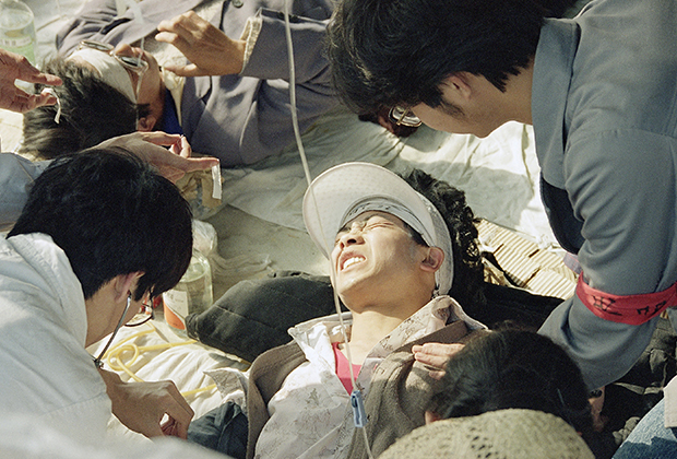 Студенческие демонстрации на площади Тяньаньмэнь в Пекине, 1989 год