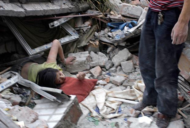 Последствия землетрясения в провинции Сычуань в 2008 году
