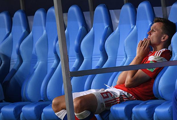 Черышев после поражения сборной России в четвертьфинале ЧМ-2018