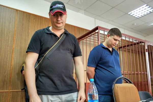 Алексей Бурулько и Николай Перваков