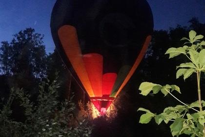 Авария ввоздухе: воздушный шар упал около свежей Ропши