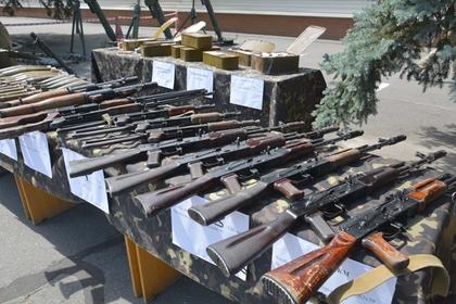 На Украине показали арсенал Савченко для государственного переворота