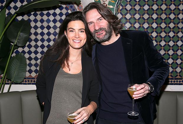 Фредерик Бегбедер и его жена Лара