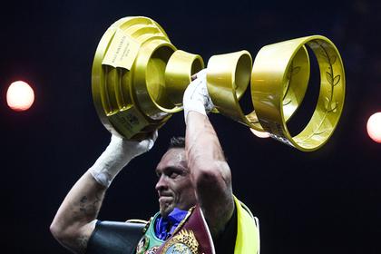 Украинский боксер Усик высказался о смене гражданства