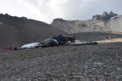 Стали известны обстоятельства катастрофы «Юнкерса» в Швейцарии