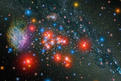 В космосе нашли гигантский аномальный объект