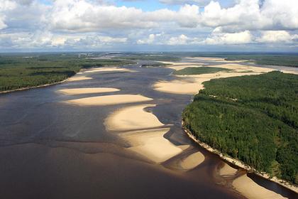 Вид на реку Надым