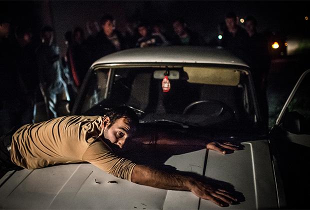 Во время одного из рейдов был задержан водитель автомобиля, подходящего под ориентировки на банду GTA