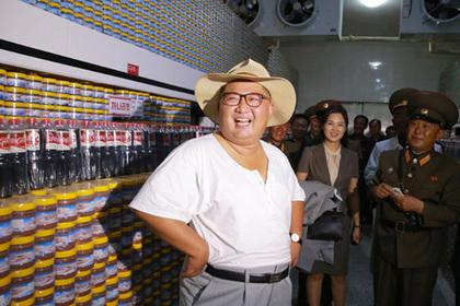Ким Чен Ын посмотрел на соленую рыбу
