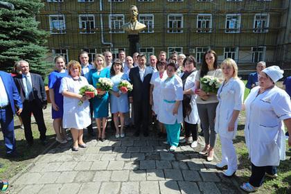 Воробьев вручил ключи от нового жилья врачам Воскресенска